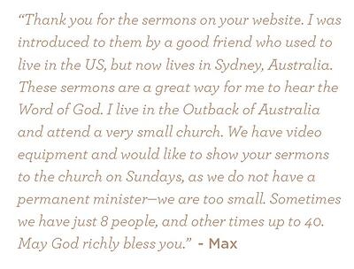Letter from Max