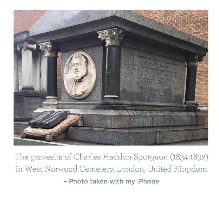 Charles Spurgeons Gravesite
