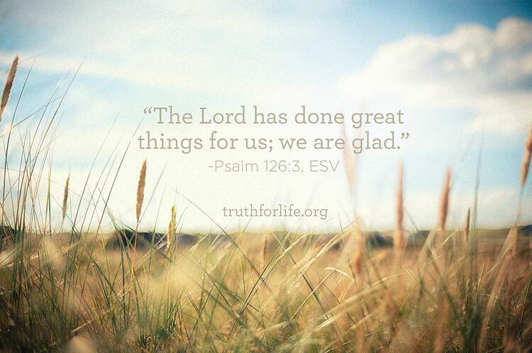 Truth For Life Daily Image June 9 2015