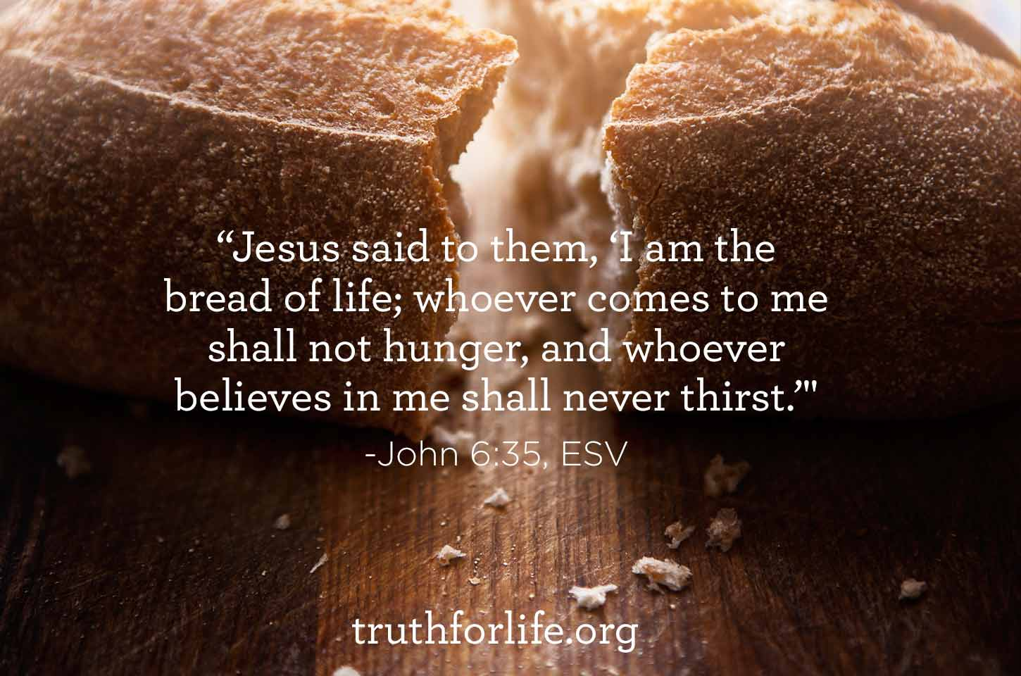 Truth For Life Daily Image May 15 2015