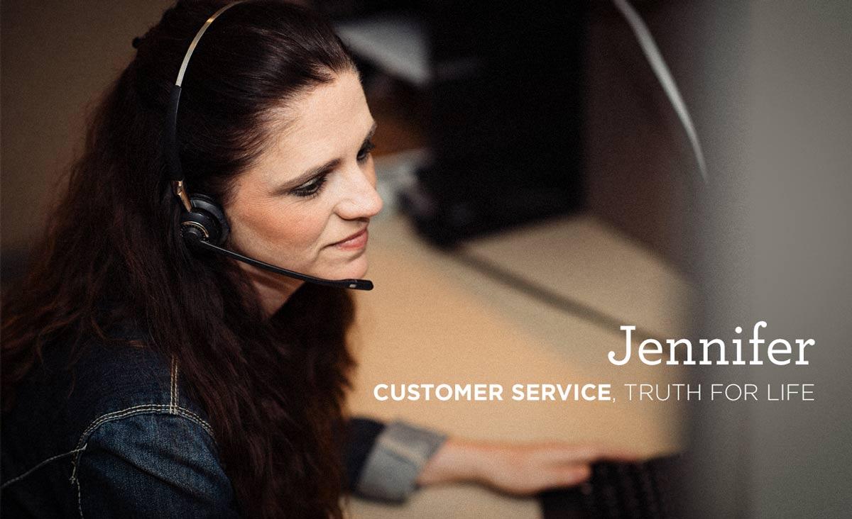 Jennifer in Customer Service