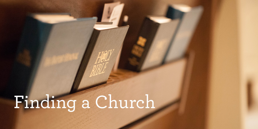 Finding a church
