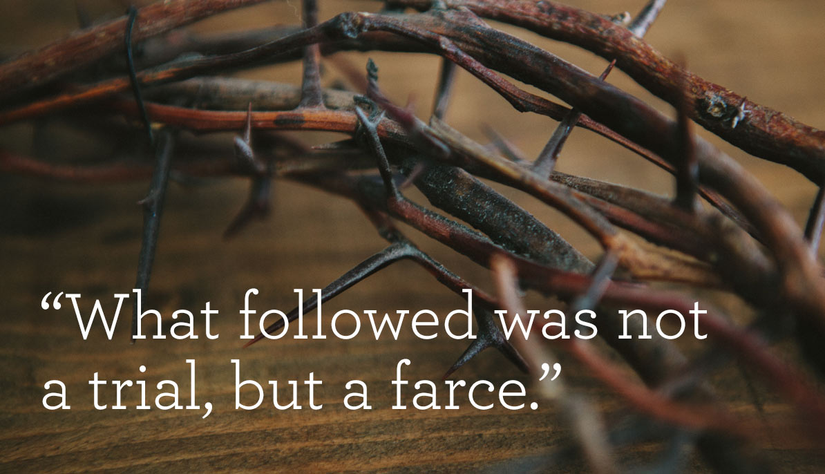 What followed was not a trial but a farce