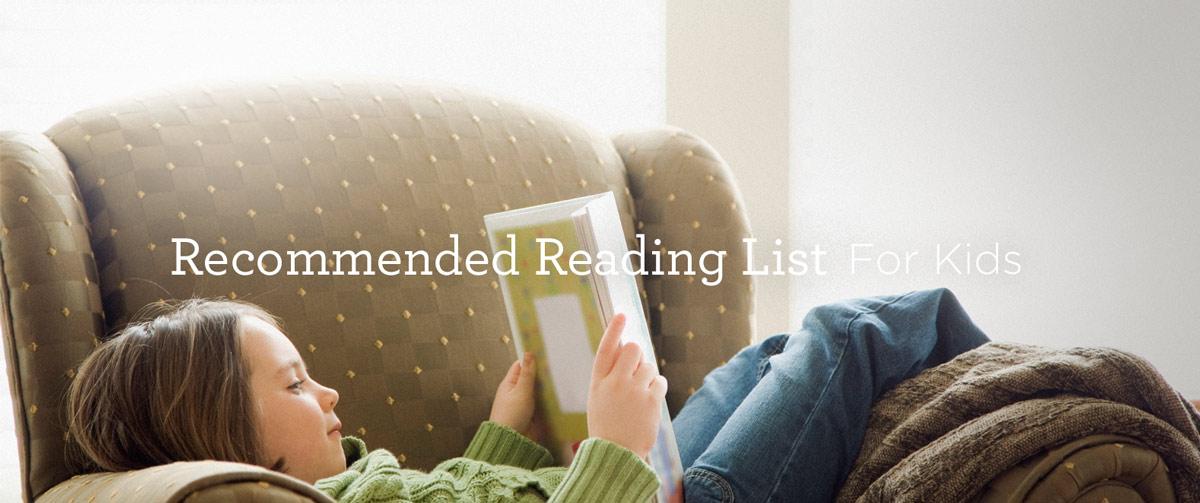 Recommended Reading List for Children