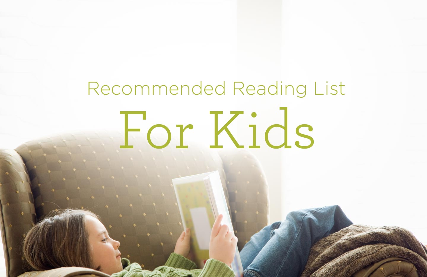 Recommended Reading List for Kids