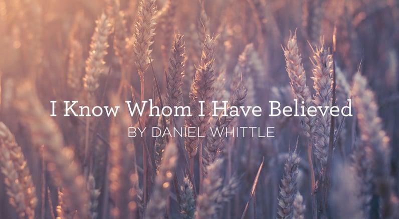 I Know Not Why God's Wondrous Grace