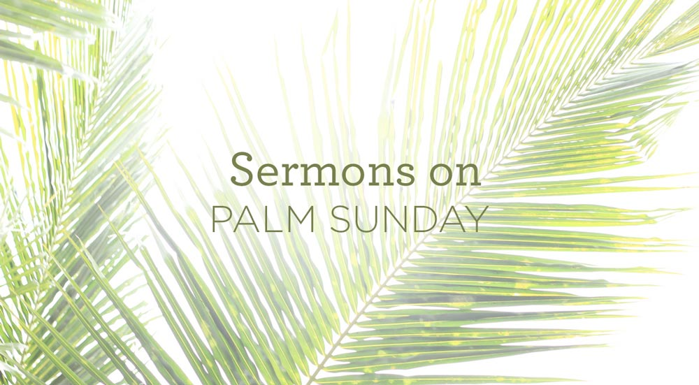 Sermons-on-Palm-Sunday