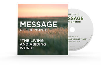Message of the Month