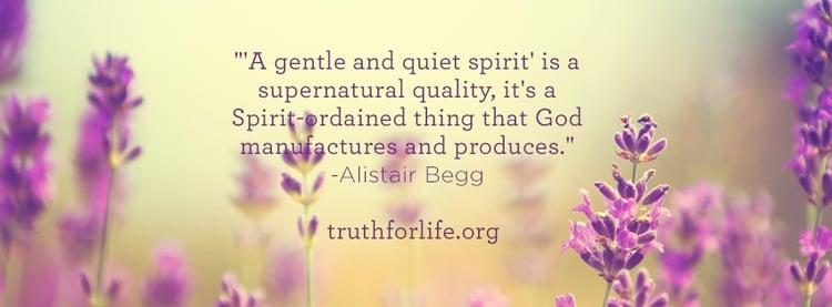 Gentle and Quiet Spirit : Wallpaper