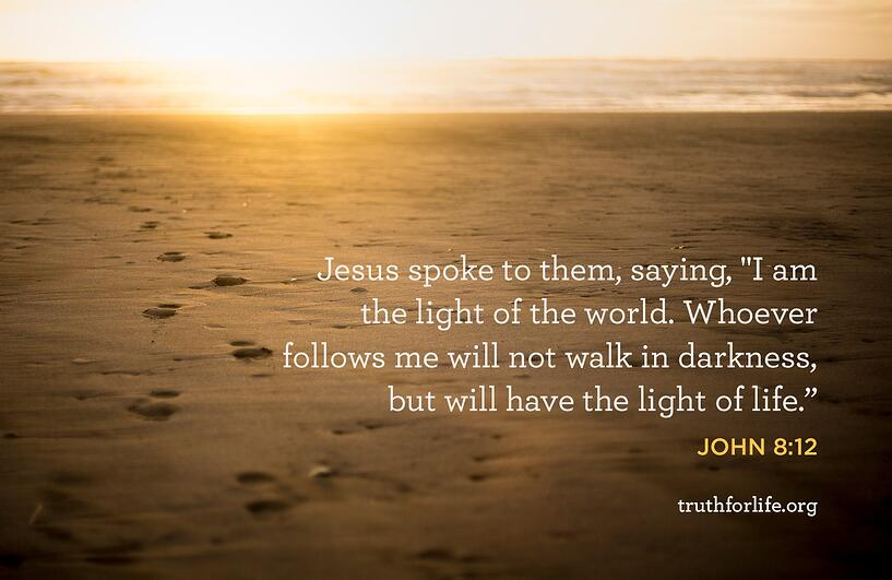 Jesus spoke to them, saying,