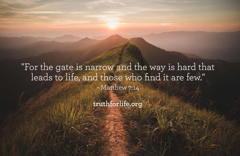 Gate is Narrow