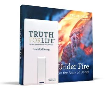 USB flash drive from Alistair Begg, Faith Under Fire