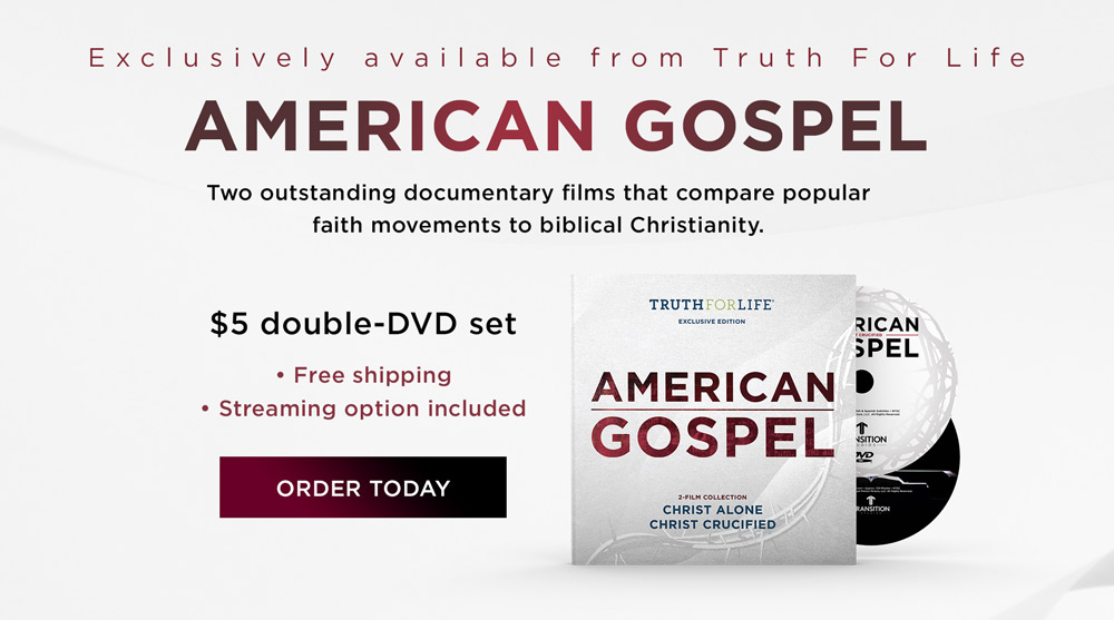 "thumbnail image for Special Holiday Offer: ""American Gospel"" Exclusively from Truth For Life"