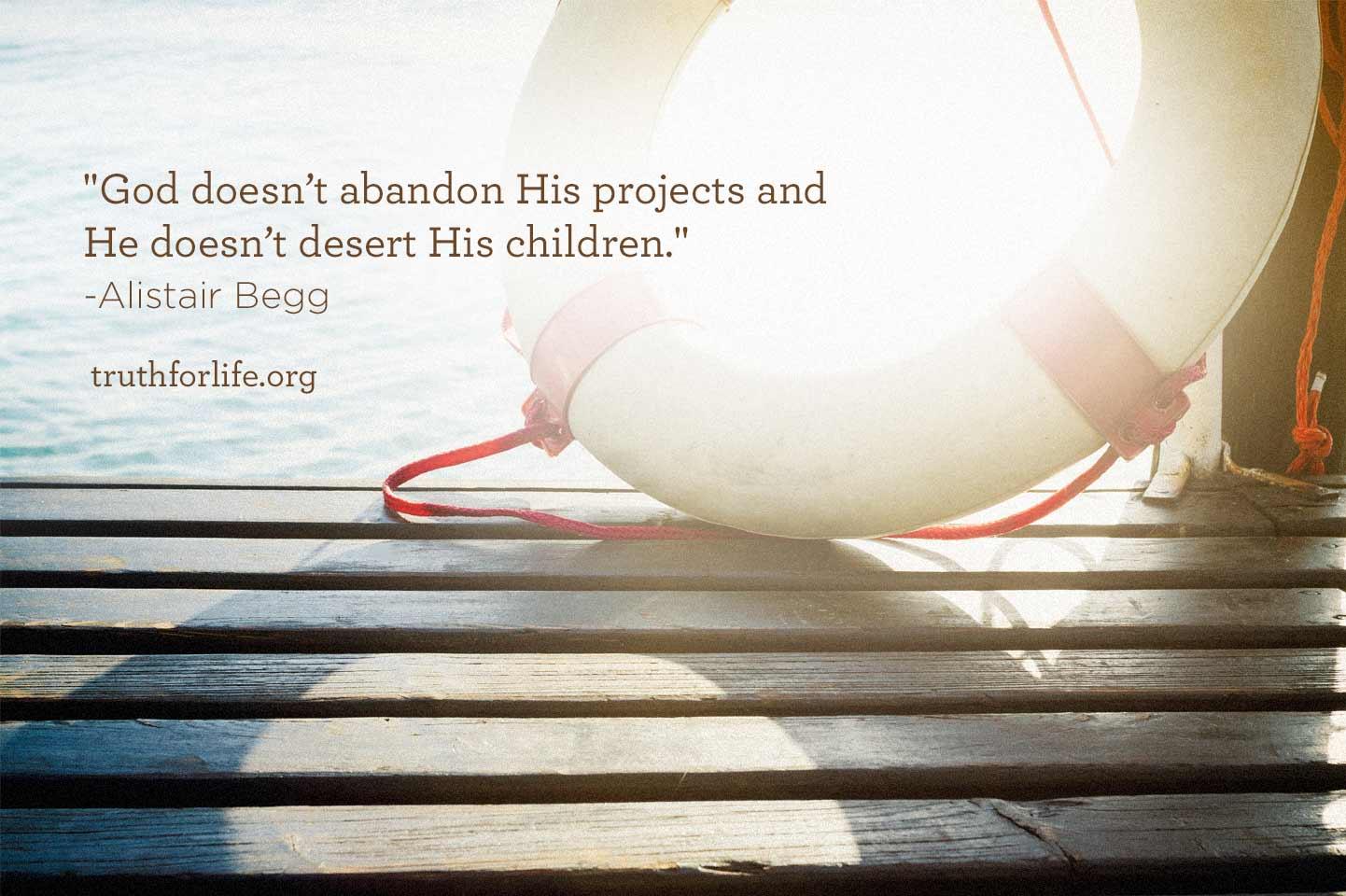 thumbnail image for God Doesn't Abandon