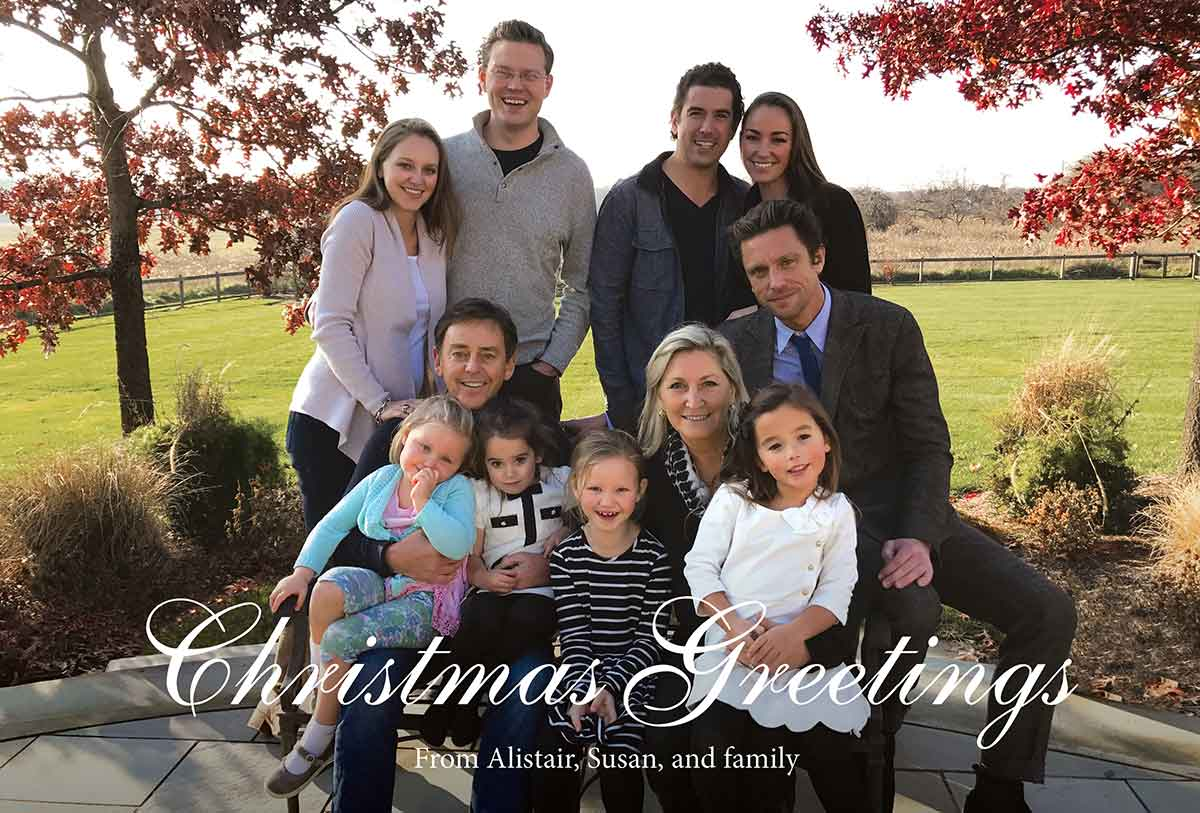 thumbnail image for Christmas Greetings from Alistair and Susan!