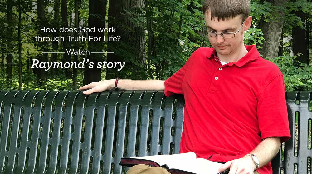 thumbnail image for Raymond from Kansas Shares His Experience Listening to Truth For Life