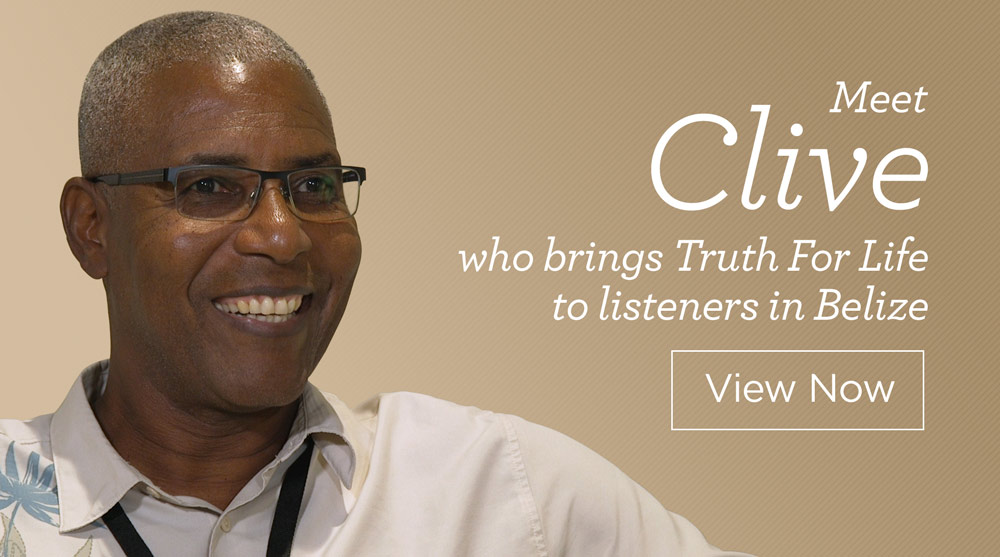 thumbnail image for Meet Clive, Who Brings Truth For Life to Listeners in Belize