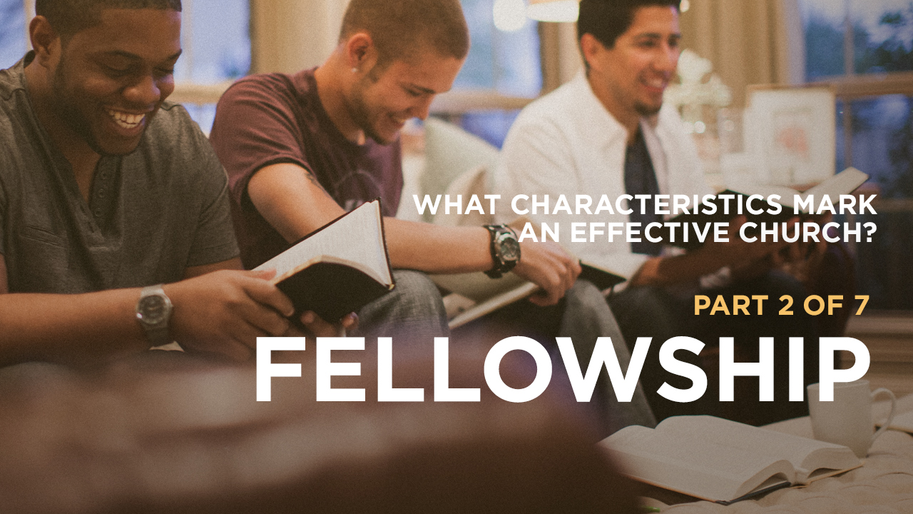 thumbnail image for What Characteristics Mark an Effective Church?Part 2 of 7: Fellowship