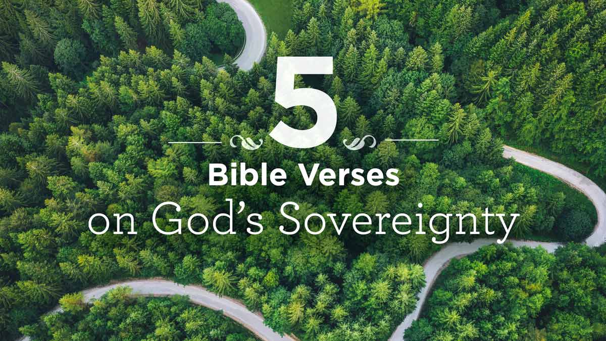 thumbnail image for 5 Bible Verses on God's Sovereignty