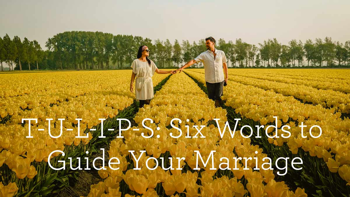 thumbnail image for T-U-L-I-P-S: Six Words to Guide Your Marriage