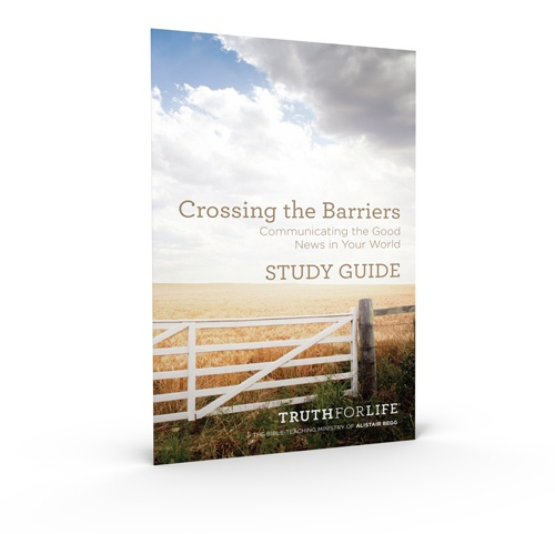 thumbnail image for Download the FREE Crossing the Barriers Study Guide