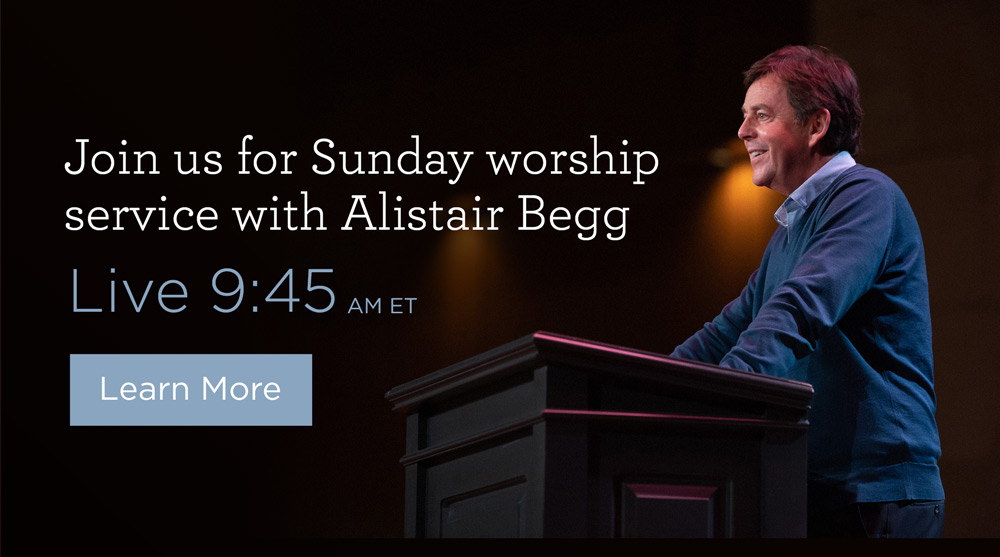 thumbnail image for Join Us for Sunday Worship Service with Alistair Begg