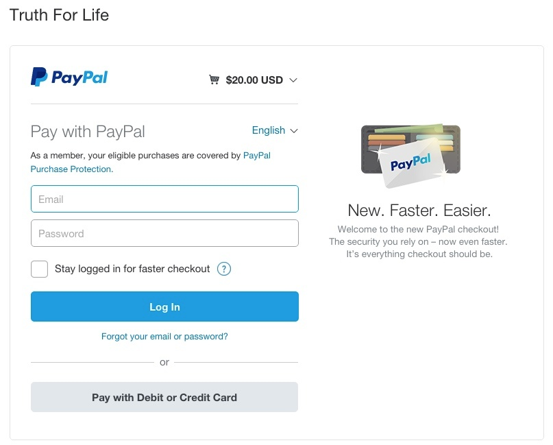 Paypal Step 2