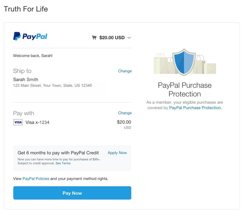Paypal Step 3