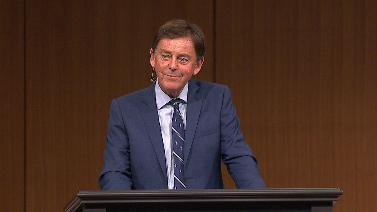 "thumbnail image for Video: ""David Spares Saul Again"" by Alistair Begg"