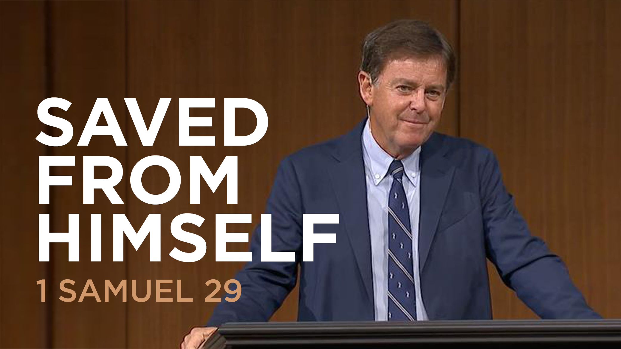 "thumbnail image for Video: ""Saved from Himself"" by Alistair Begg"