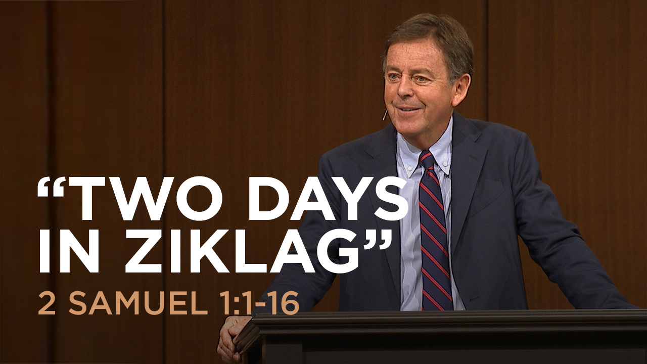 "thumbnail image for Video: ""Two Days in Ziklag"" by Alistair Begg"