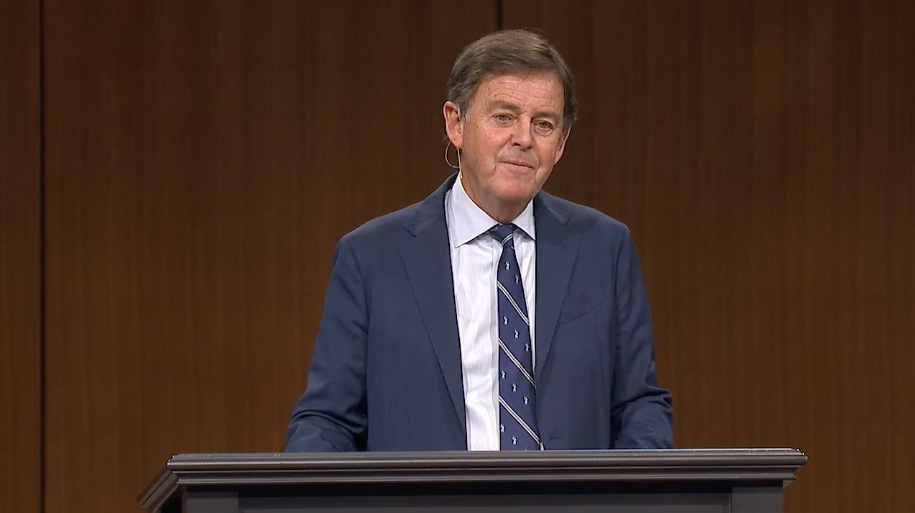 "thumbnail image for Video: ""Singing in the Pain"" by Alistair Begg"