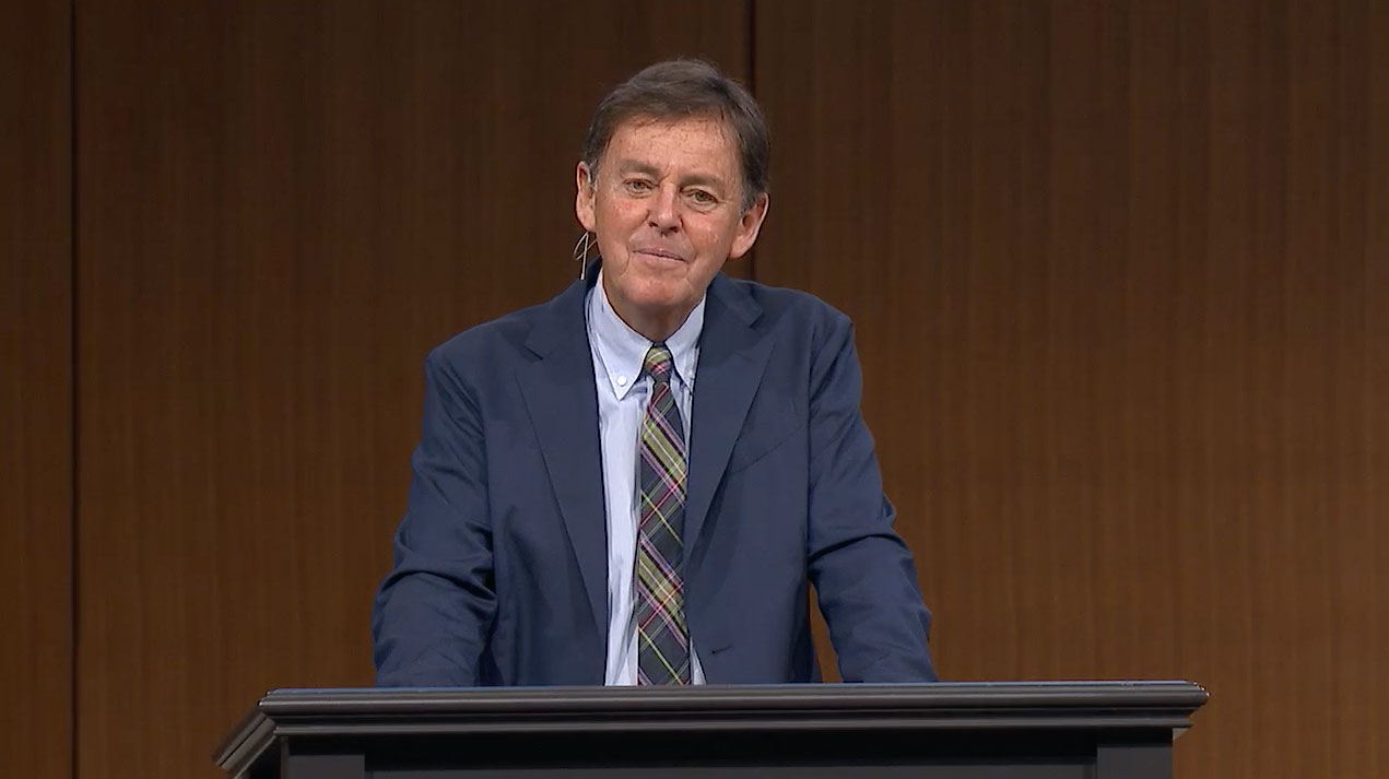 "thumbnail image for Video: ""Leaving Matters with God"" by Alistair Begg"