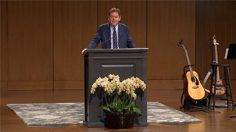"thumbnail image for Video: ""All One in Christ Jesus"" by Alistair Begg"