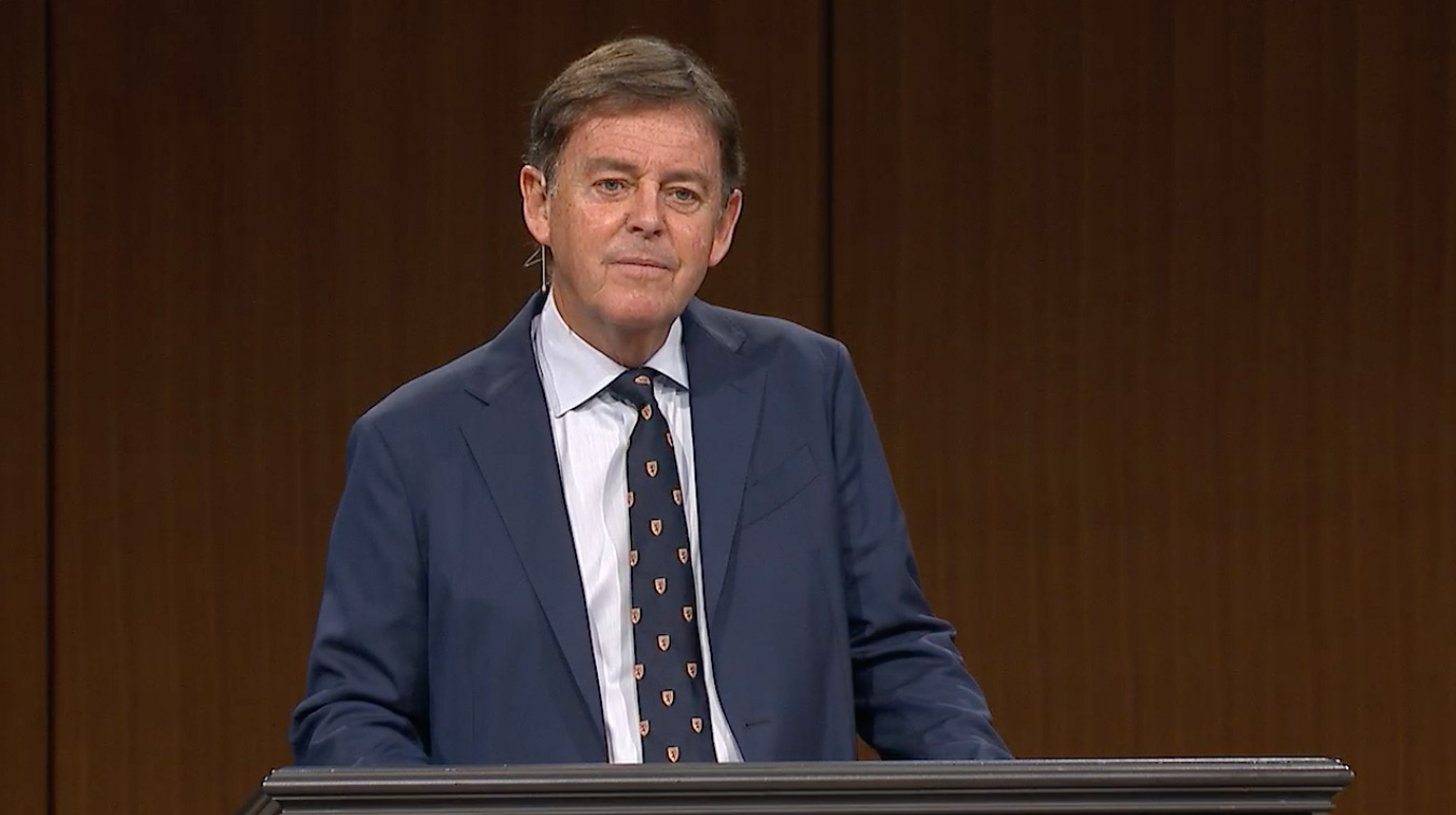 "thumbnail image for Video: ""The Incomparable Christ — Part Three"" by Alistair Begg"