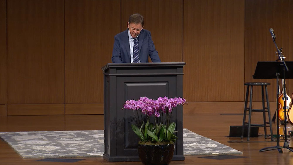 "thumbnail image for Video: ""A Timely Prayer"" by Alistair Begg"