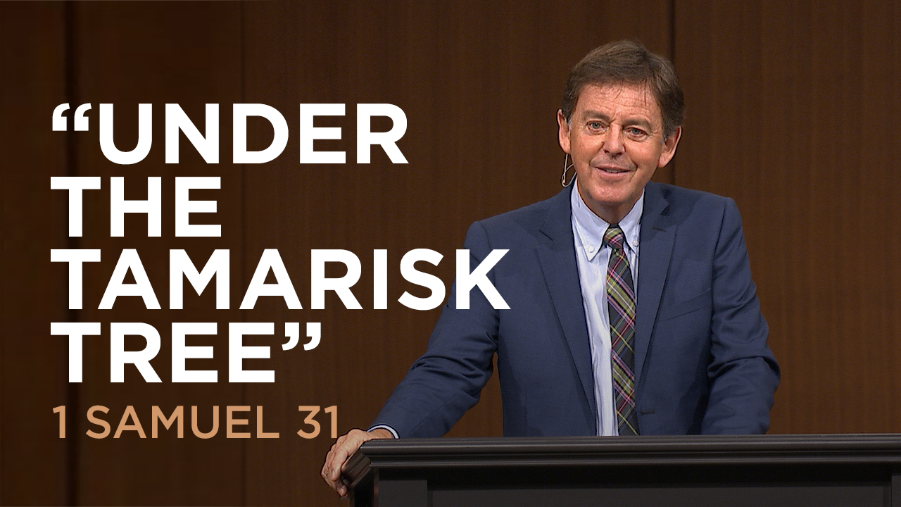 "thumbnail image for Video: ""Under the Tamarisk Tree"" by Alistair Begg"