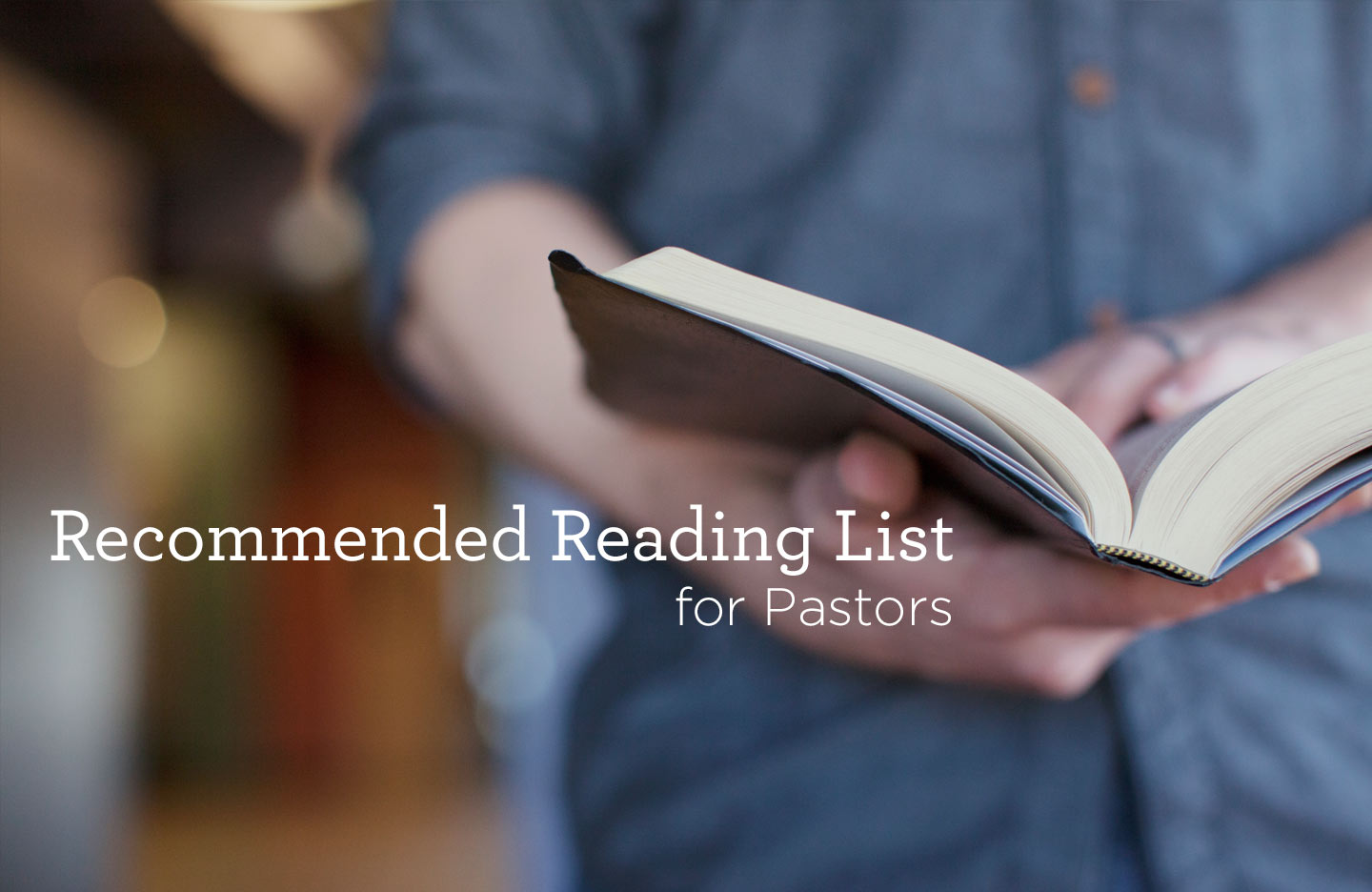 thumbnail image for Recommended Reading List for Pastors