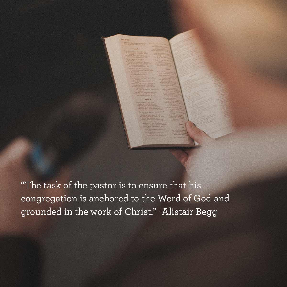thumbnail image for Task of the Pastor