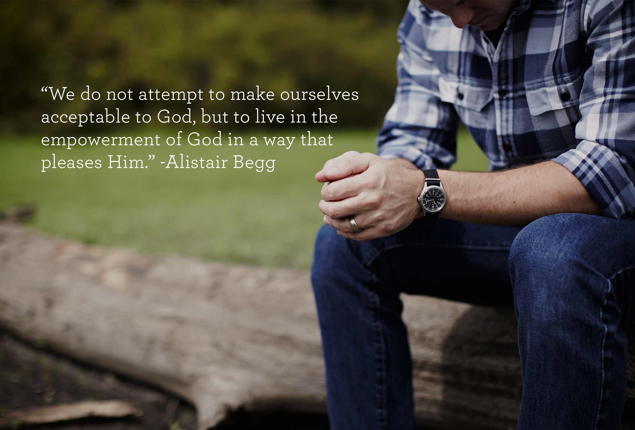 thumbnail image for Don't Attempt to Make Yourself Acceptable to God