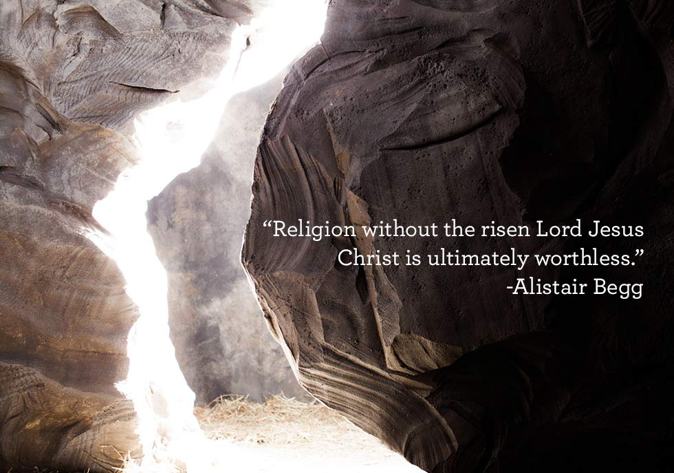 thumbnail image for Religion without the risen Lord Jesus Christ is ultimately worthless