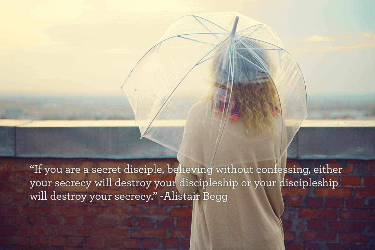 thumbnail image for If you are a secret disciple...