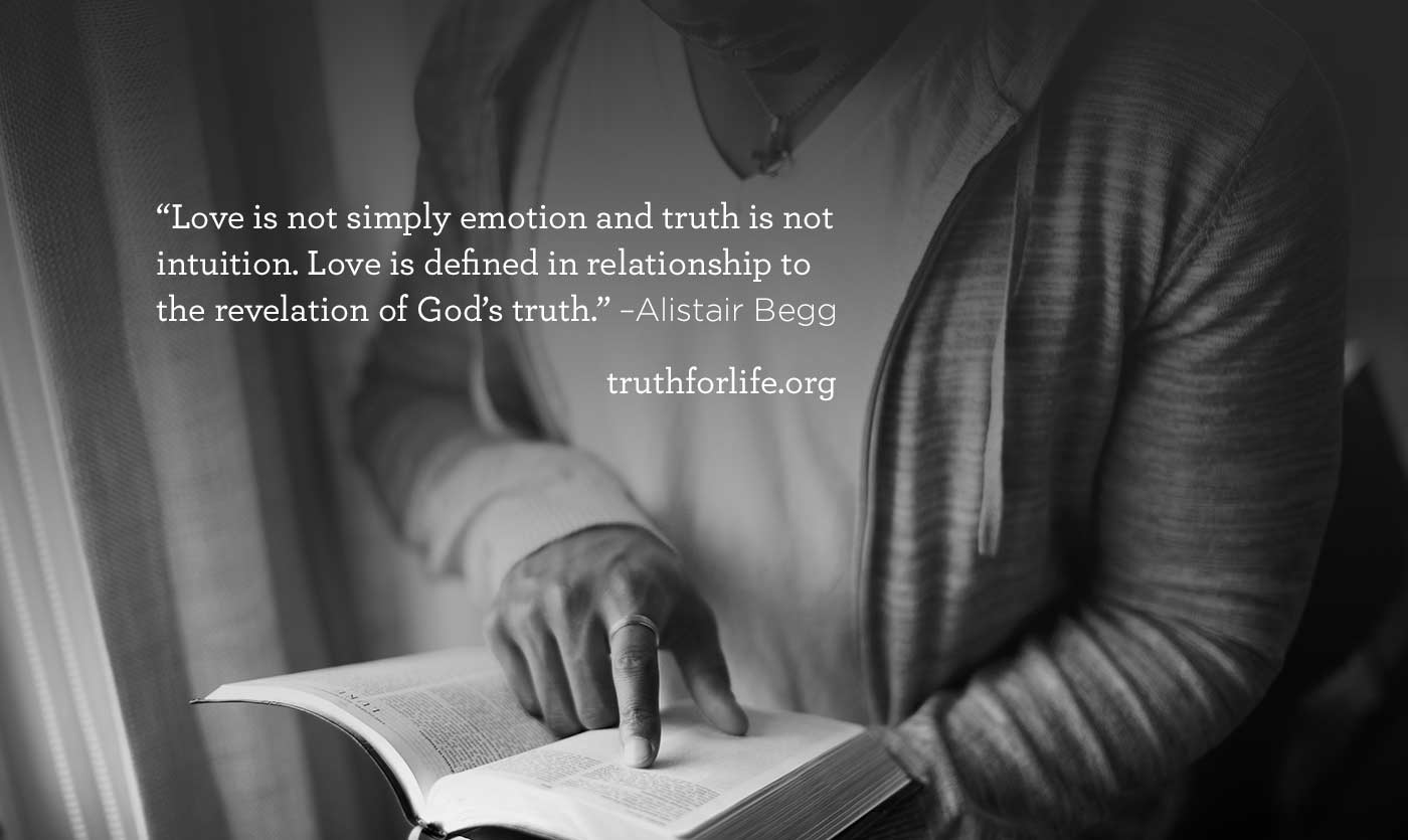 thumbnail image for Love is defined in relationship to the revelation of God's truth