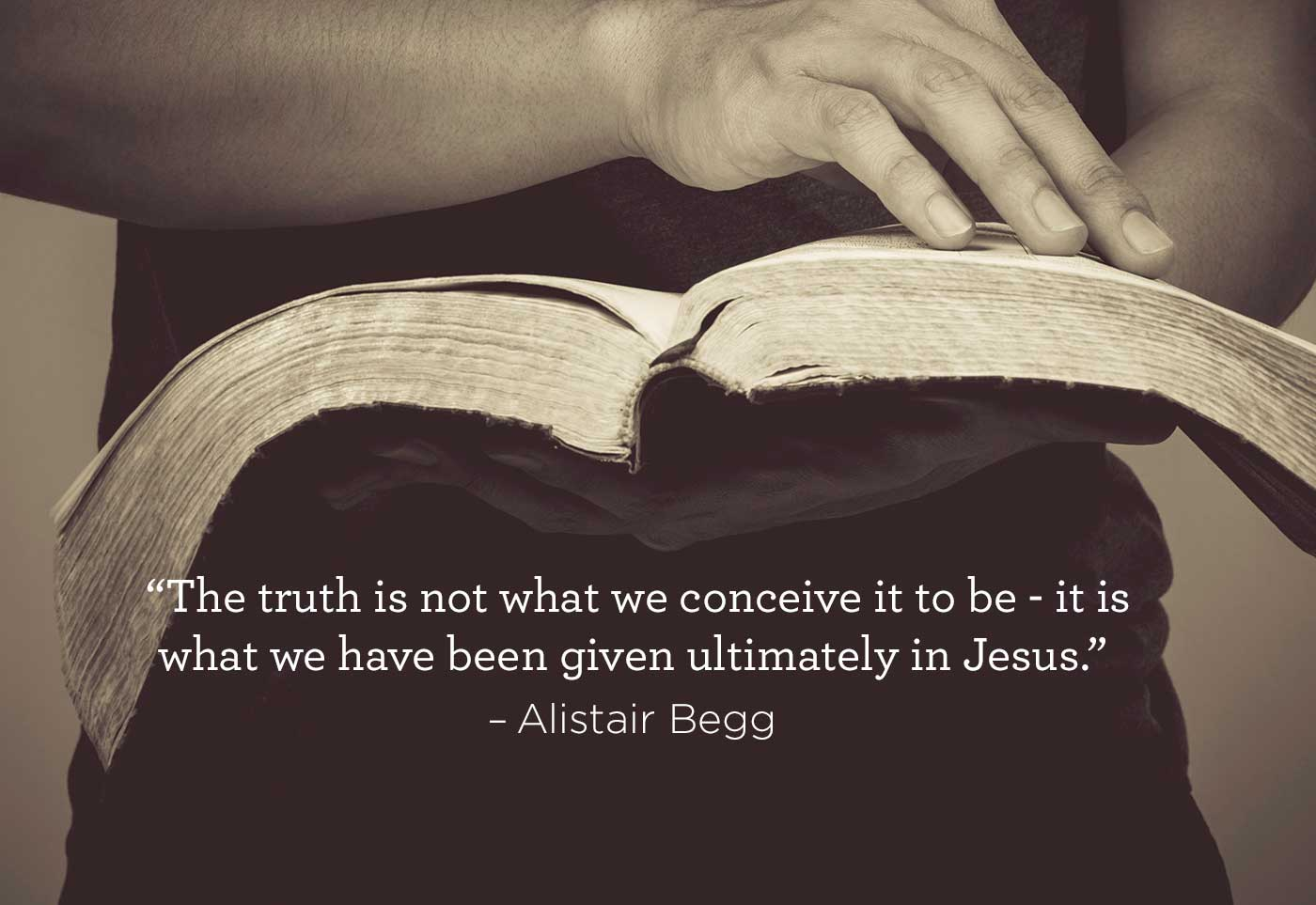 thumbnail image for Truth is in Jesus