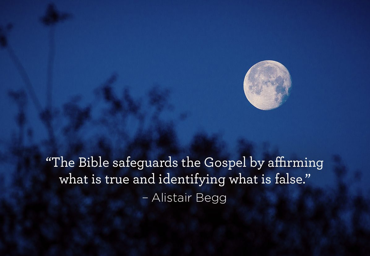 thumbnail image for The Bible Safeguards the Gospel