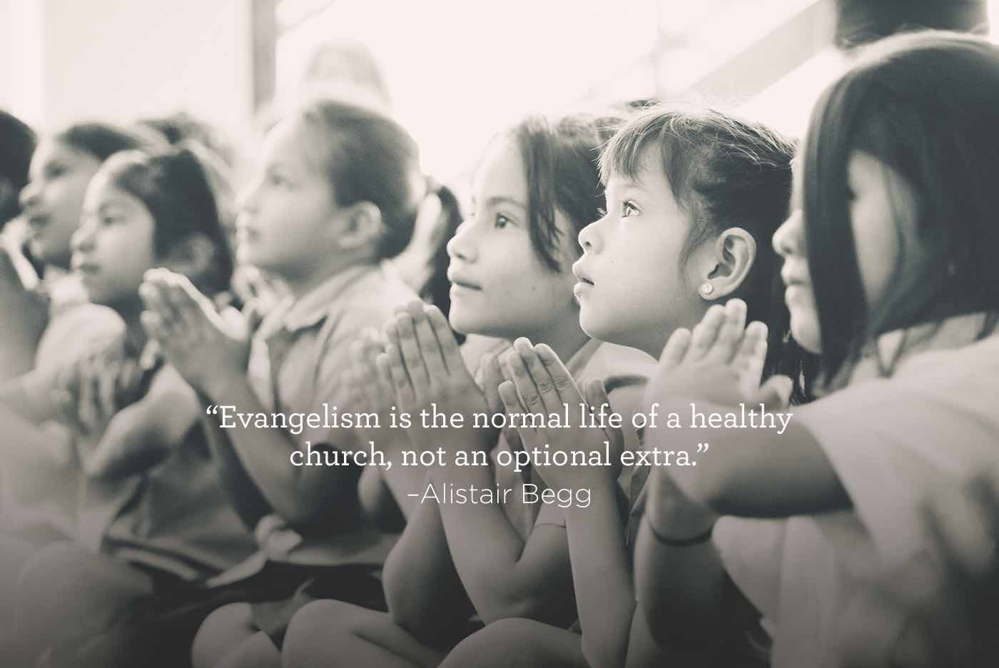 thumbnail image for Evangelism is Not an Optional Extra