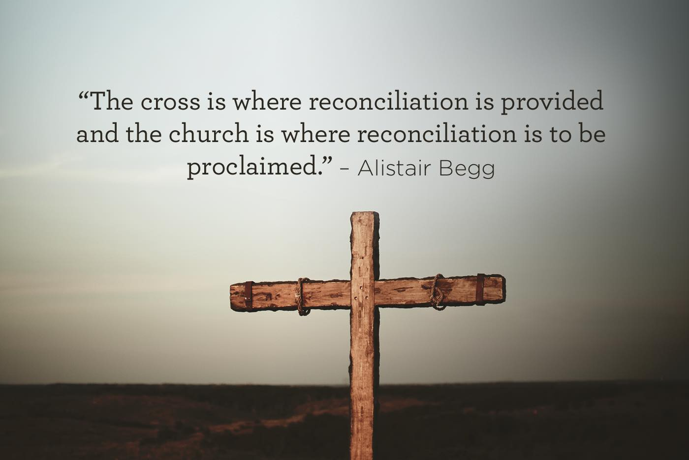 thumbnail image for Reconciliation at the Cross