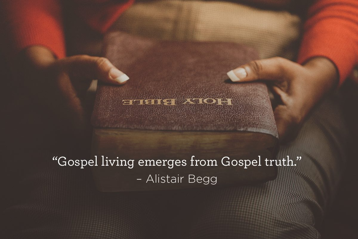 thumbnail image for Gospel Living Emerges from Gospel Truth