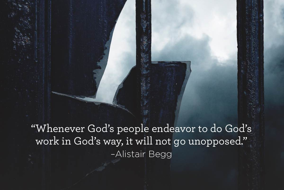 thumbnail image for God's Work Will Not Go Unopposed