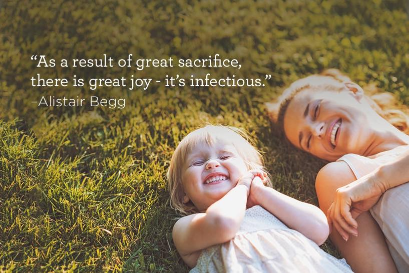 thumbnail image for The Result of Great Sacrifice is Great Joy